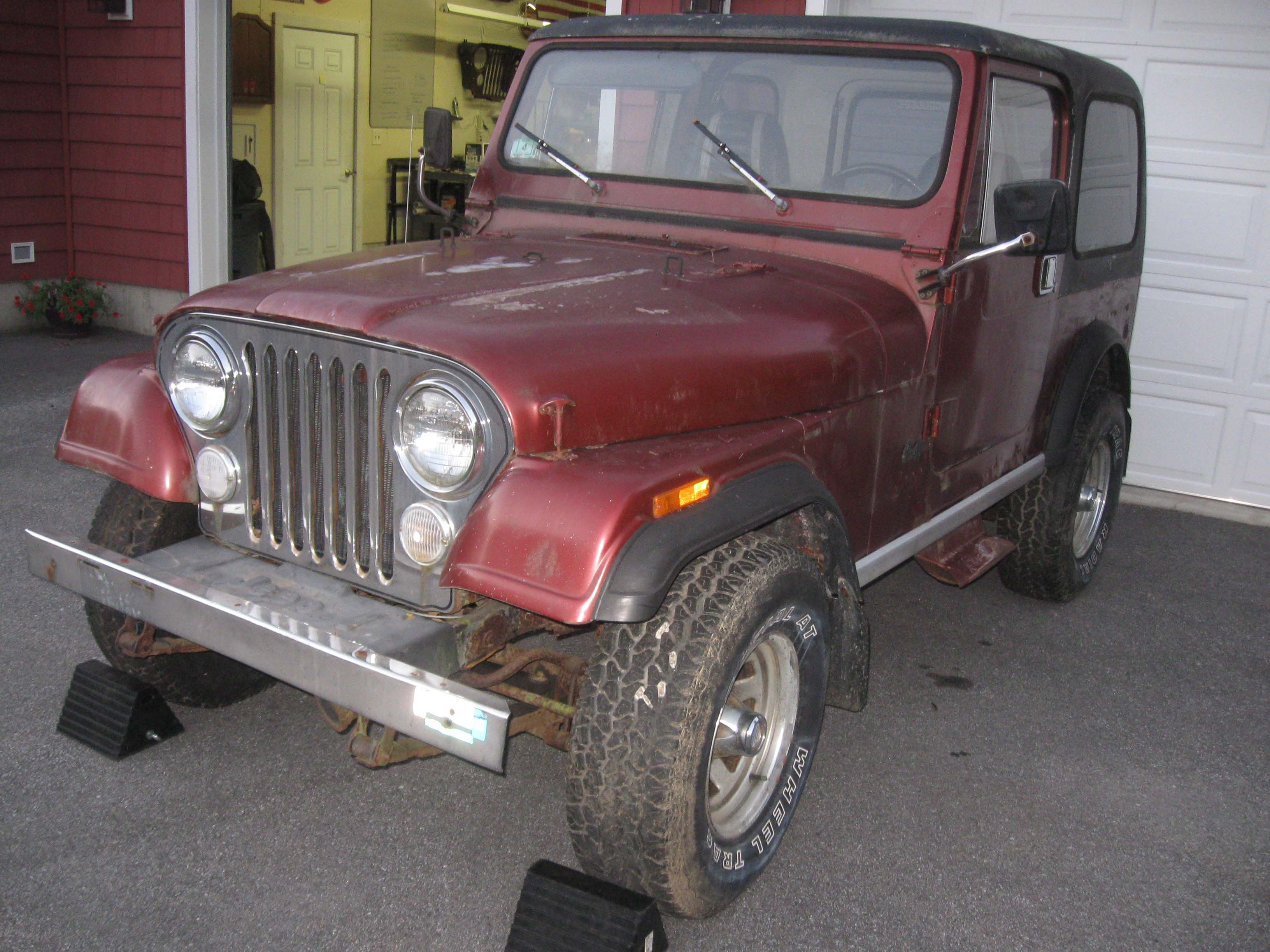 "certifiablejeep Project ""Export Jeep CJ7"" a k a Project"