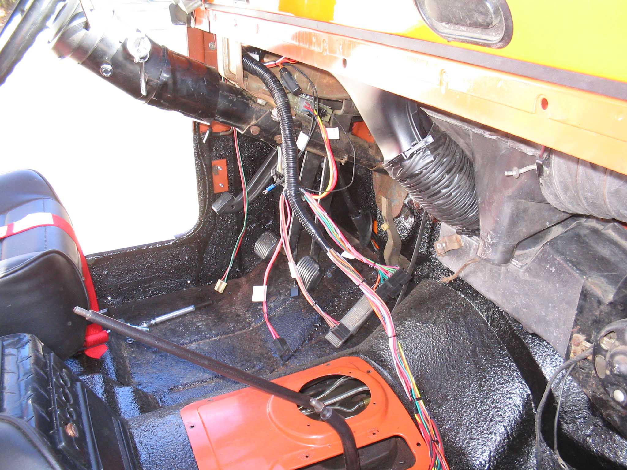 Wiring Harness Jeep : Certifiablejeep painless wiring harness part